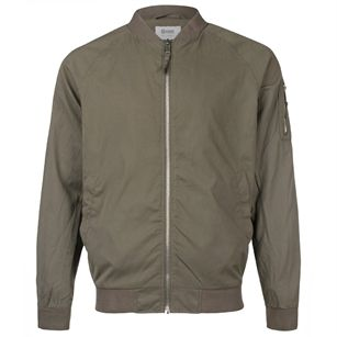 8MM. Tube bomber jacket, Green, medium