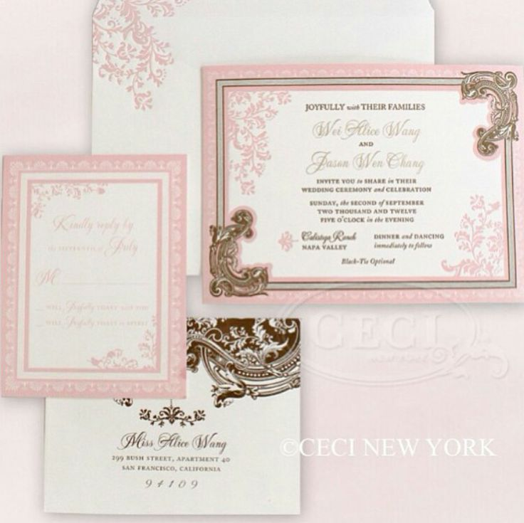 luxury wedding invitations dallas%0A Luxury Wedding Invitations by Ceci New York  Our Muse  Elegant Ornate  Wedding  Be inspired by Alice and Jason u    s ornate  romantic wedding