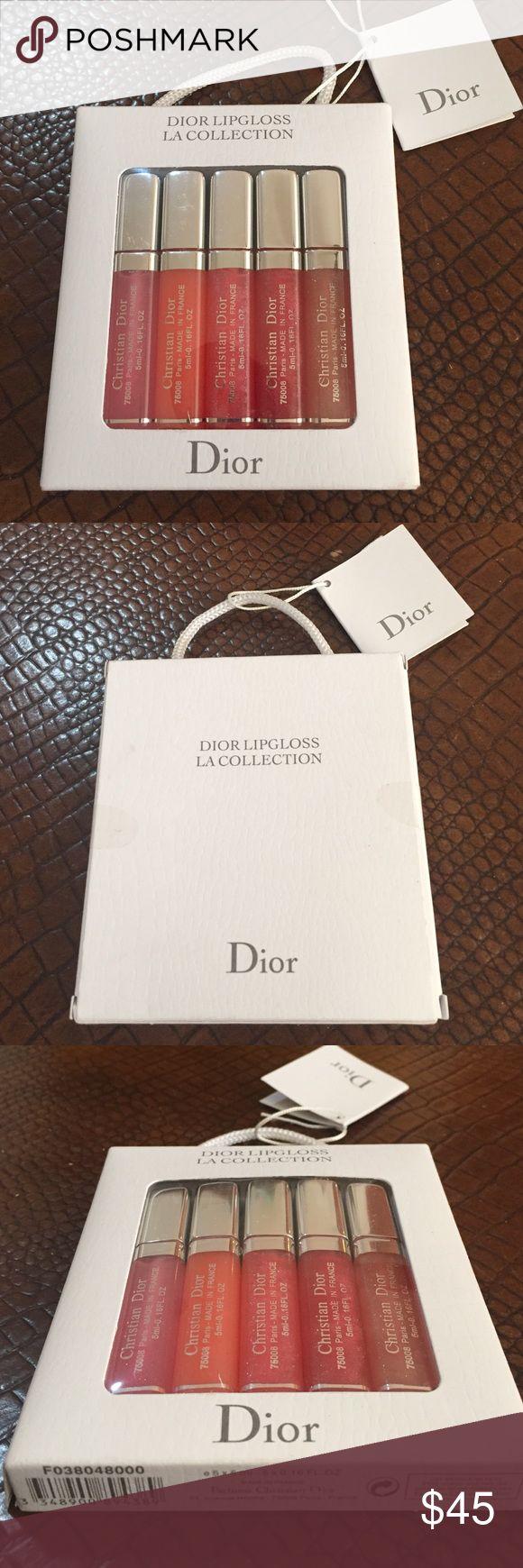 DIOR LIPGLOSS NEW SET LIPGLOSS DIOR Christian Dior Makeup Lip Balm & Gloss