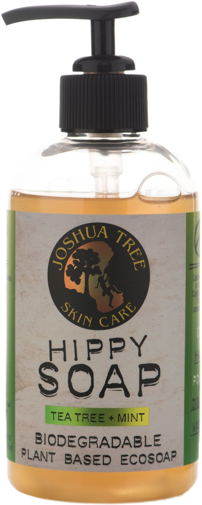 Joshua Tree Hippy Soap - Biodegradable Plant Based Ecosoap - Tea Tree + Mint