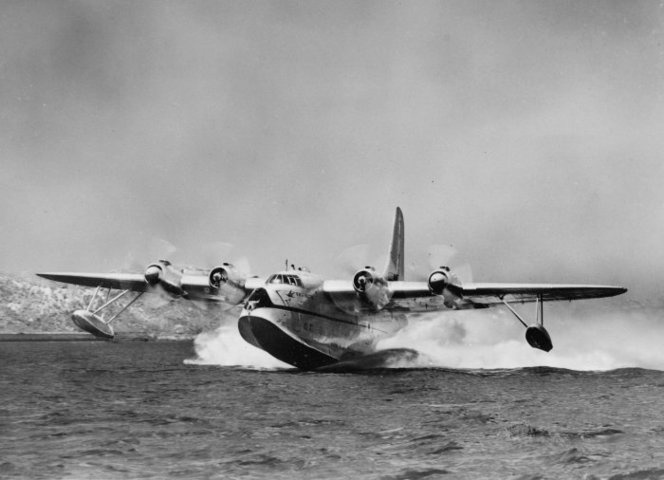 TEAL Solent flying boat Awatere | Items | National Library of New Zealand