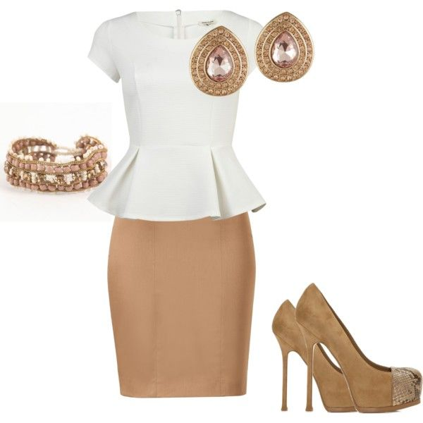 business casual. love this look!