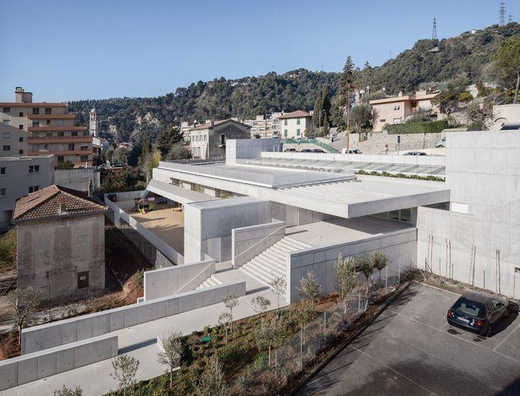 CAB architectes: children's day care center in la trinite