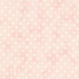 8654-60 - Essential Dots (Baby Pink) // Juberry Fabrics