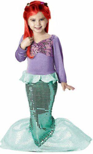 Kid's Little Mermaid Costume (Size:X-Small 4-6) True Reviews