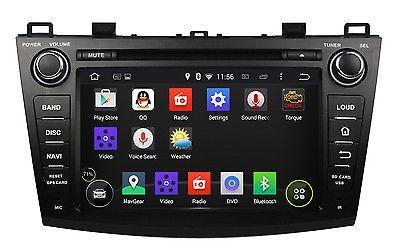 Android 5.1.1 Quad Core Car Dvd Gps Navi Radio Stereo Dab For Mazda 3 2009-2012