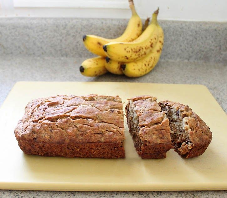 Quick and easy receipe for banana bread.
