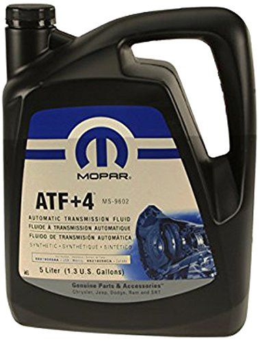 Mopar 68218059AC Automatic Transmission Fluid ATF+4, 5 Liters/1.3 Gallons
