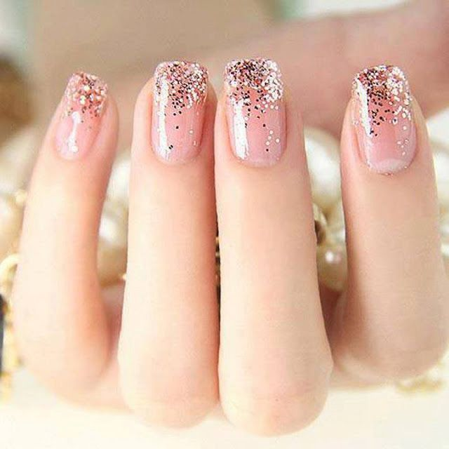 This elegant glitter gradient could be your ring's perfect compliment. #OPI #repin