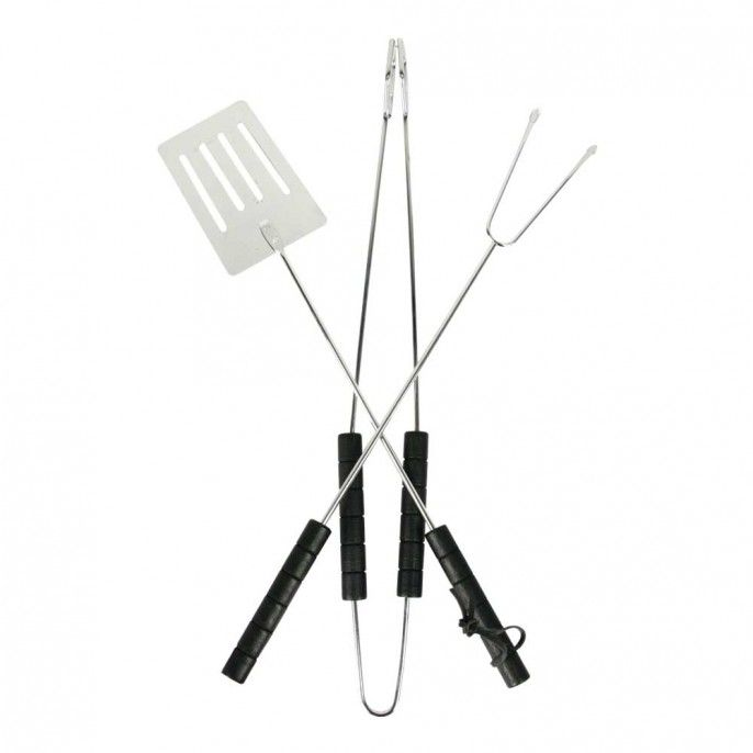 VALUE BBQ TOOL SET - Barbecues & Fire Pits - Garden & Outdoor | Poundstretcher