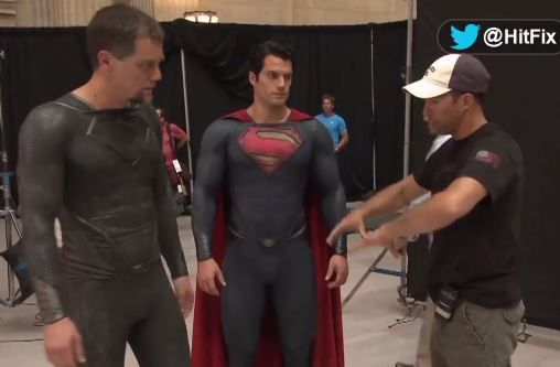 Two great looking #actor ! Michael Shannon & Henry Cavill  :D