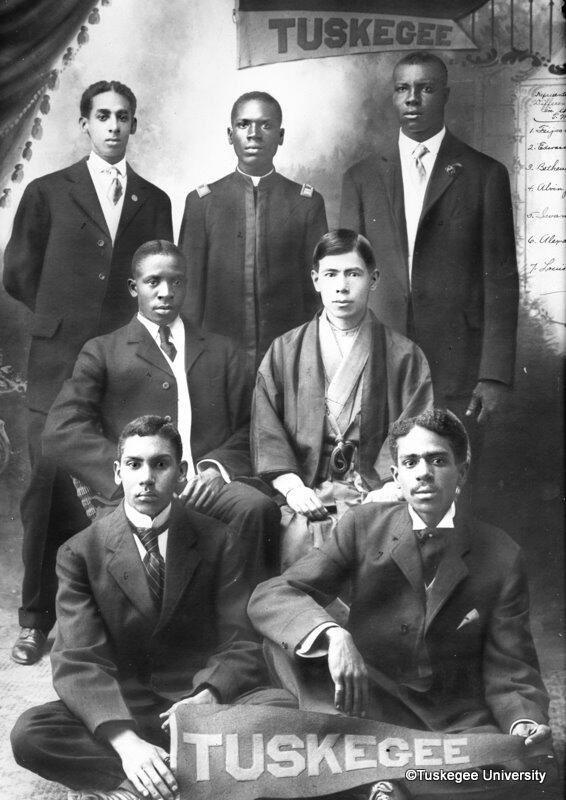 Tuskegee University students