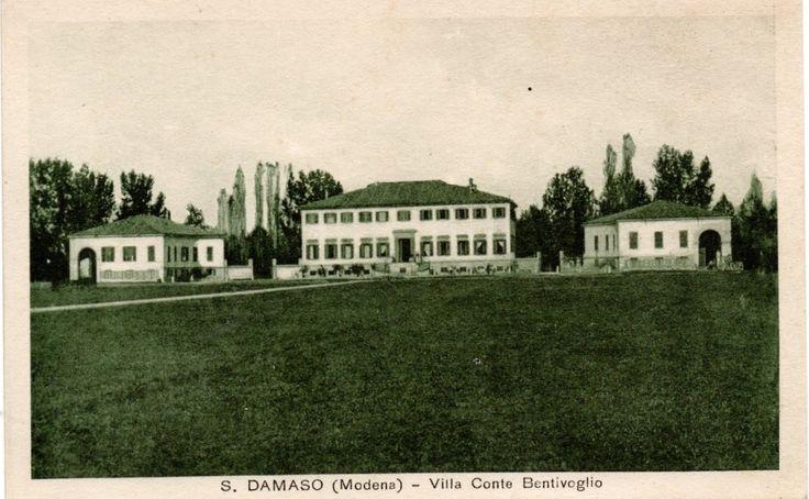 Villa BuonaFonte detta la casa delle Cento Finestre delizia ducale; altra foto d'epoca
