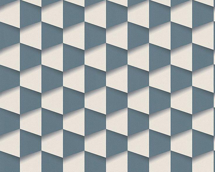 Tapeta ścienna bryły 3D Move Your Wall 96018-2 AS Creation
