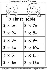 1000+ images about Multiplication Worksheets on Pinterest | Times ...