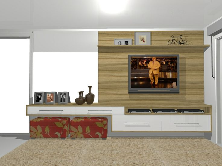 Home Theater See More Painel Tv Sala