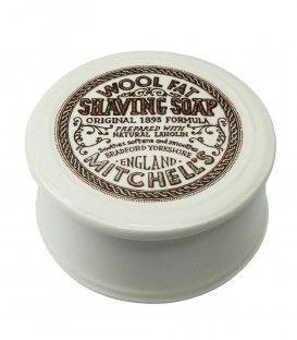 Săpun de bărbierit Mitchell's 125gr cu bol ceramică