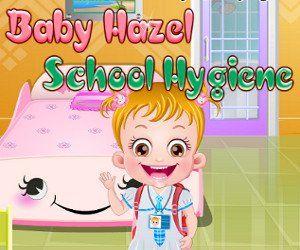 Малышка Хейзел Школа Гигиены, http://www.babyhazelworld.com/game/malyshka-hjejzjel-shkola-gigijeny. Мама рассказывает малышке о важности личной гигиены, вместе с мамой малышка учит правила личной гигиены, важность ухода за своим телом и своей внешностью