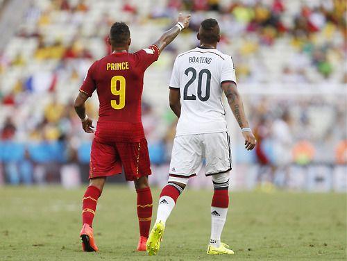 Jerome Boateng & Kevin Prince Boateng