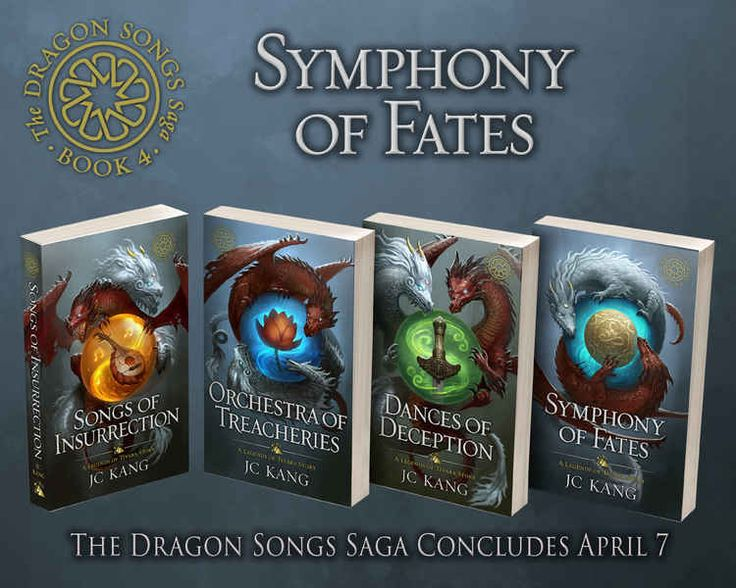 Weekly Fantasy Fix: Symphony of Fates by JC Kang