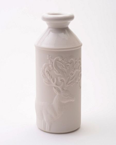 Antler Liquid Vessel. Could be used as a vase, but I see my almond milk in this. http://odengallery.com/see-all/decor-tableware/antler/ $90 Cnd