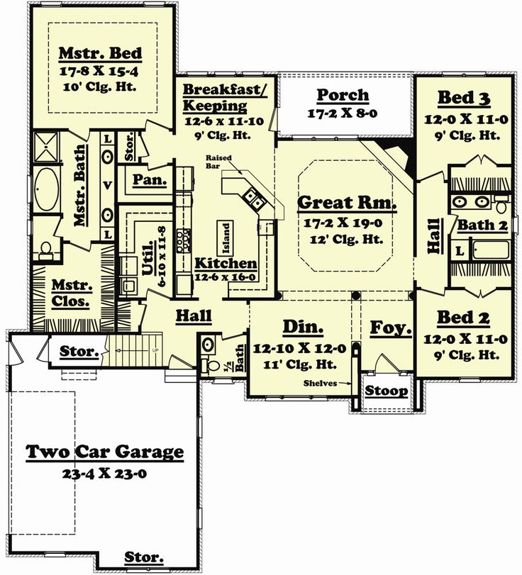 Magnolia Place House Plan