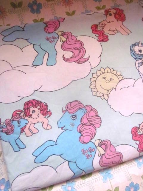 My little pony fabric ...
