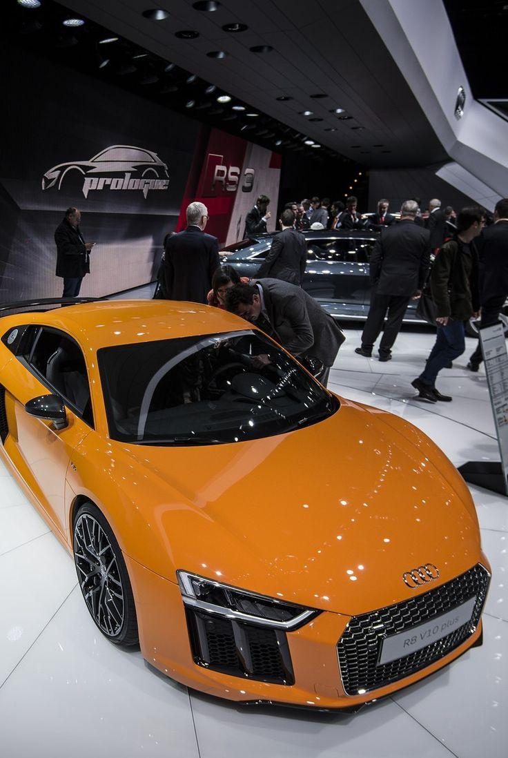 ◆ Visit ~ MACHINE Shop Café ◆ ❤ Best of Audi @ MACHINE... ❤ (Orange Audi R8 V10 Supercar)