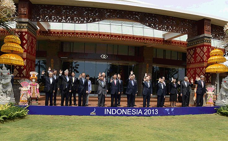 Chilean President Sebastián Piñera attended the APEC summit in Indonesia. Photo: Gobierno de Chile