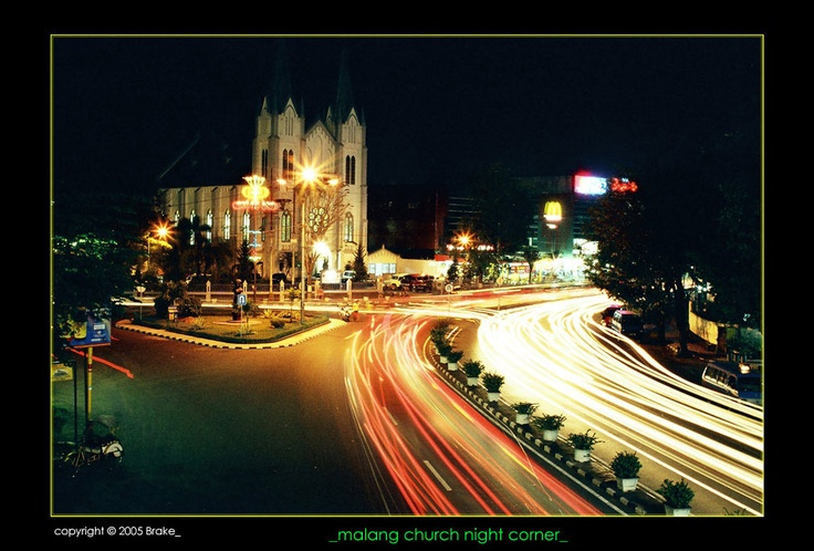 one historical corner of Malang, East Java-Indonesia