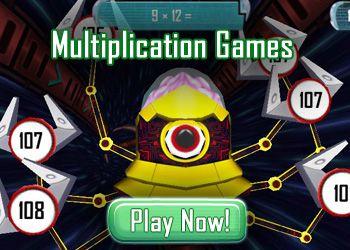 Multiplication Games - Free Math Games Online