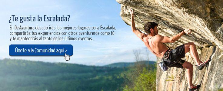 Si te apasiona escalar! Y ha escalado las montañas o rocas del Perú únete y comparte tu experiencia con otros aventureros. http://www.deaventura.pe/escalada
