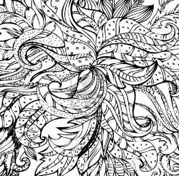 abstract coloring pages coloringfilminspectorcom - Art Pages To Color
