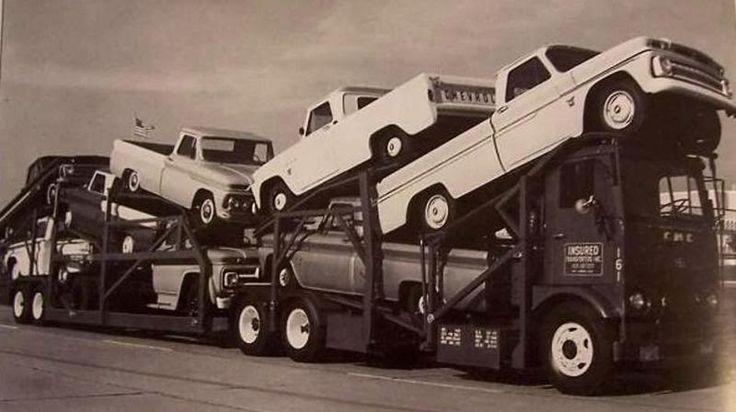 Vintage Car Hauler Photo - The 1947 - Present Chevrolet & GMC Truck Message Board Network