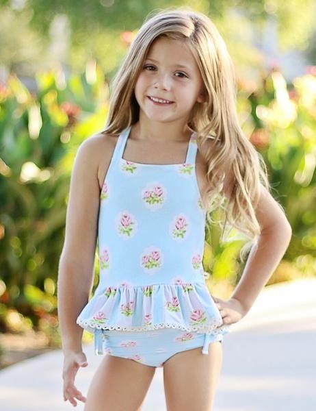 7558fc462ded Swoon Baby primrose 2 pc bikini tunic swimsuit SB205 in 2019   Zandy ...