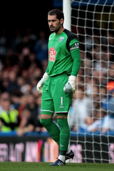 Aug. 14th. 2010: Scott Carson looks on during the Barclays Premier League match between Chelsea and West Bromwich Albion at Stamford Bridge