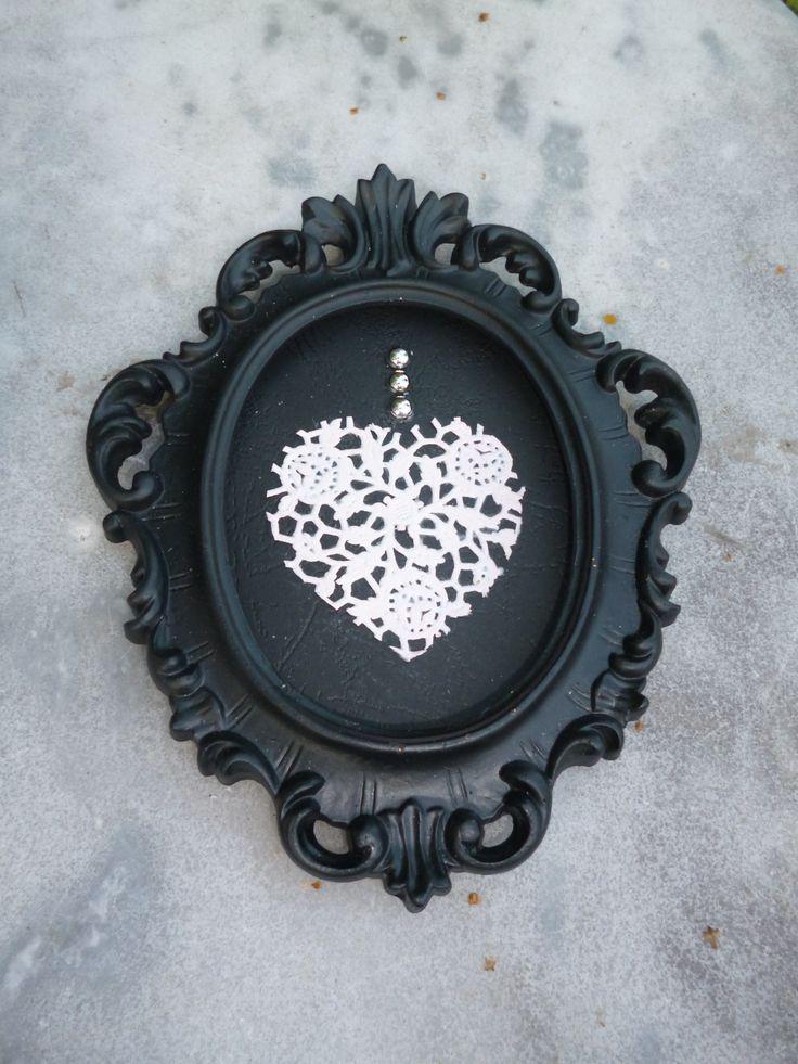 Les 183 meilleures images du tableau petite brocante sur pinterest patine entiers et fait main - Petit cadre baroque pas cher ...