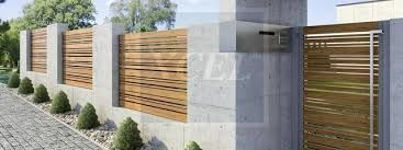 contemporary horizontal fence panels on a wall - Google Search