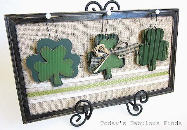 Interchangeable Holiday Frame: Wall Art, Holidays Ornaments, Crafts Ideas, Fabulous Finding, Today Fabulous, St. Patrick'S Day, Holidays Decor, Great Ideas, Interchangeable Frames