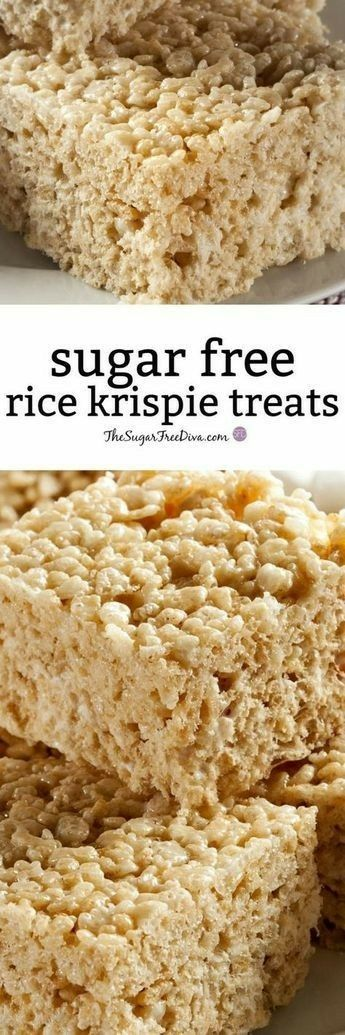 Sugar free rice krispie treats recipes