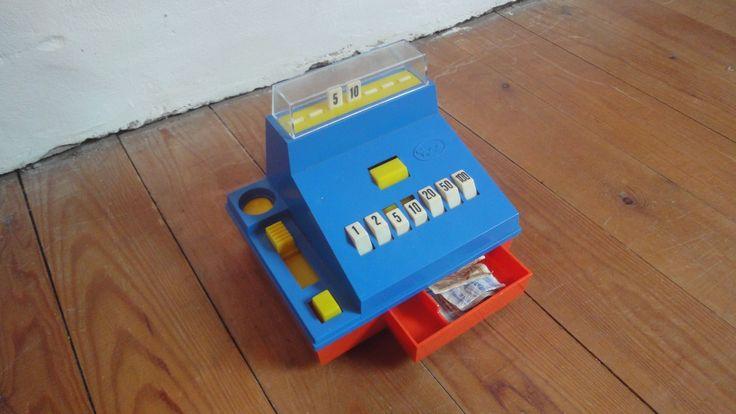 petite caisse enregistreuse (jouet vintage)