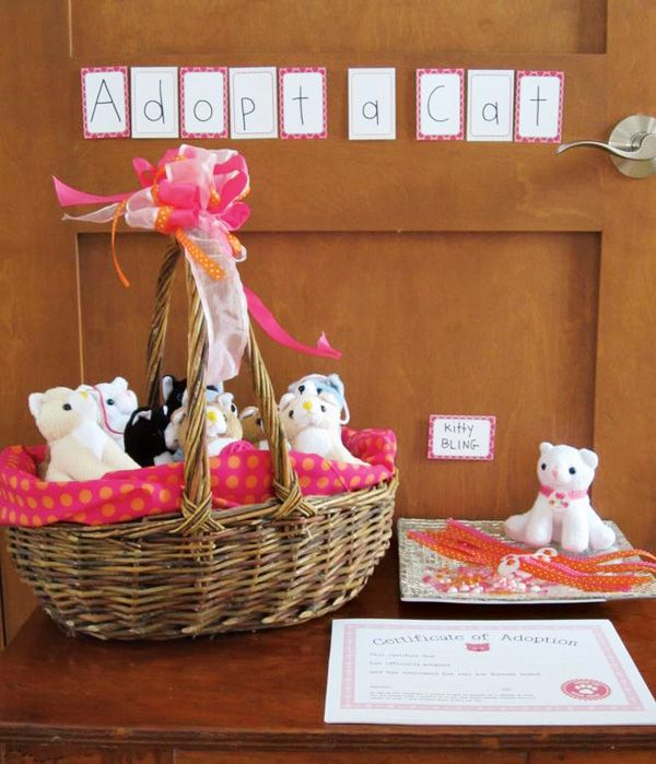 My invites were featured on Hostess with the Mostess!!  Check it out ... Cute Kitty Cat Party {Girl's Birthday}