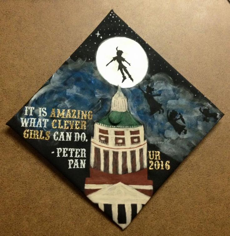 Graduation Cap Clever Girl: My Graduation Cap! Peter Pan: It's Amazing What Clever