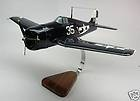 F6F Hellcat Grumman F 6F F 6 F Airplane Wood Model Big