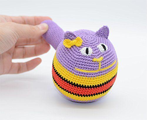 Stress ball, amigurumi toy, cuddly toy cat, purple presen... https://www.amazon.co.uk/dp/B01MXOJI0K/ref=cm_sw_r_pi_dp_x_aYZ8zbTWSR6SM