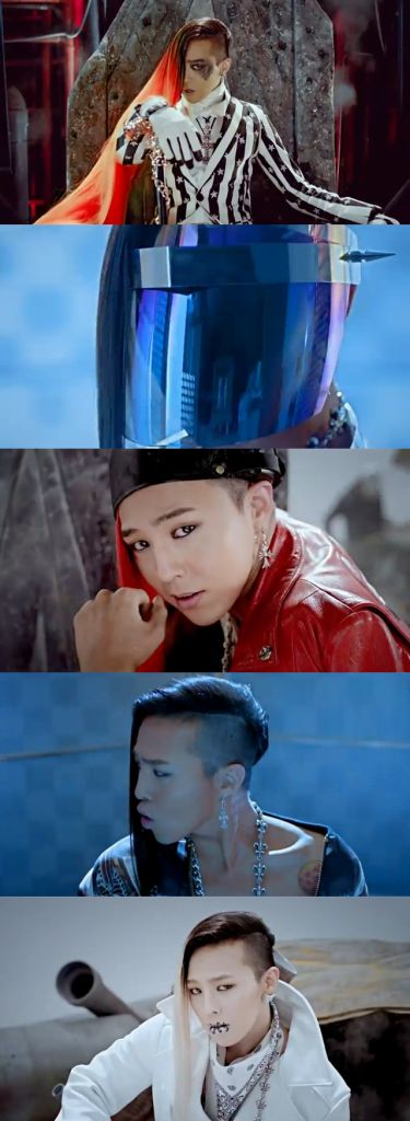 I really loved Ji Young's looks/stage presence in this mv~