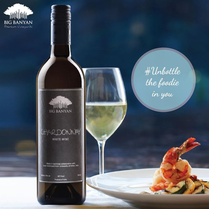 #Unbottle the foodie in you with a fine bottle of wine.