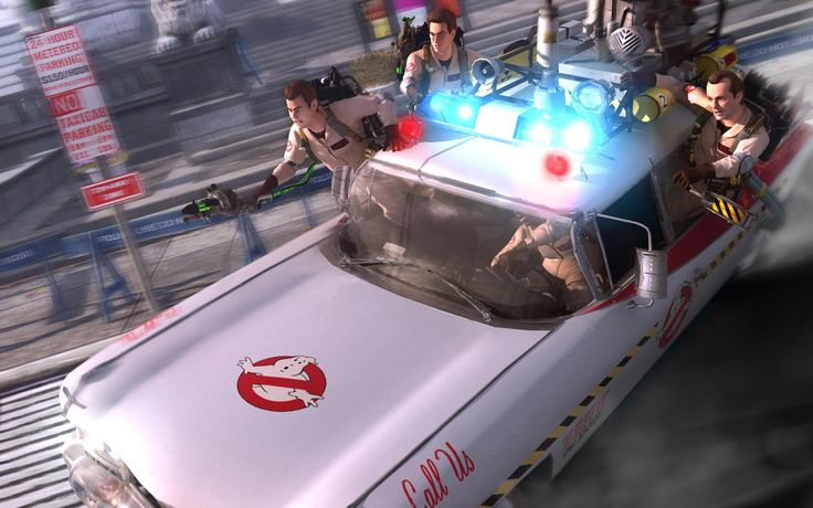 ghostbusters the video game hd 1920x1200