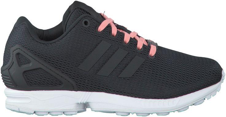 Adidas Schwarze  Sneaker ZX FLUX DAMES