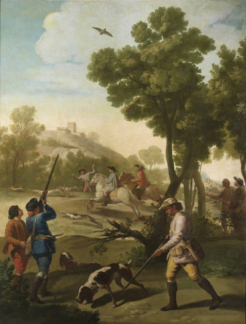 Goya en El Prado: Partida de caza